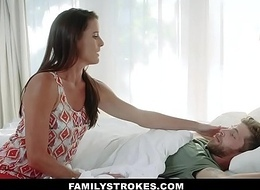 FamilyStrokes - Sweet Stepmom Fucks Son To Feel Repair