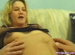 Pleasuring the Pregnant Blonde