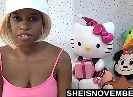 Young Black Girl Pressured Everywhere Ride His Big Dick After Spanking My Ass Hard
