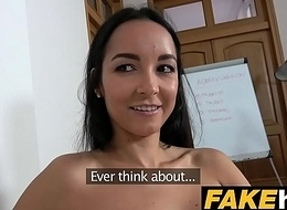 Fake Agent Brazilian MILF Sucks and Bonks Casting Agent for job