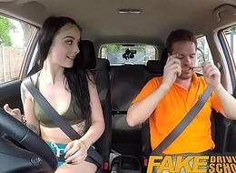 Fake Driving Motor coach Gamer chicks pussy covered in cum after blowjob