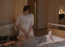 Horny Japanese sorrow is toyed to multiple orgasms by a holder