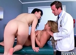 Sex In Cabinet Betwixt Doctor Added to Patient (Aria Alexander &amp_ Sofia Valletta) video-04