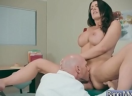 Hard Adventure Sex With Doctor And Patient (Reagan Foxx) video-25