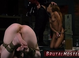 Rough hardcore strap upstairs punish When he'_s completed violently pounding