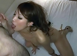 Rino Asuka undulates while cock pounds her tiny twat - More at Javhd.net