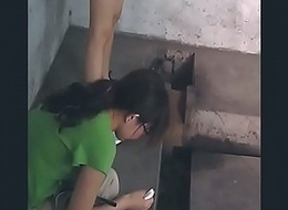 Spy Chinese Girl in Village Toilet