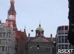 Playgirl gets mouth fucked