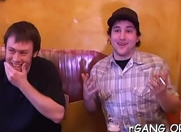 Grown-up guys fuck honeys