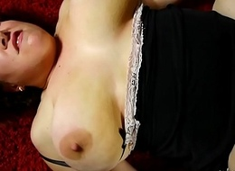 Super cute chubby old spunker loves cum all over will not hear of nice big tits