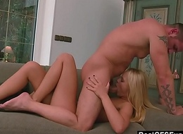 RealGfs - Tight Blonde loves to divert will not hear of man